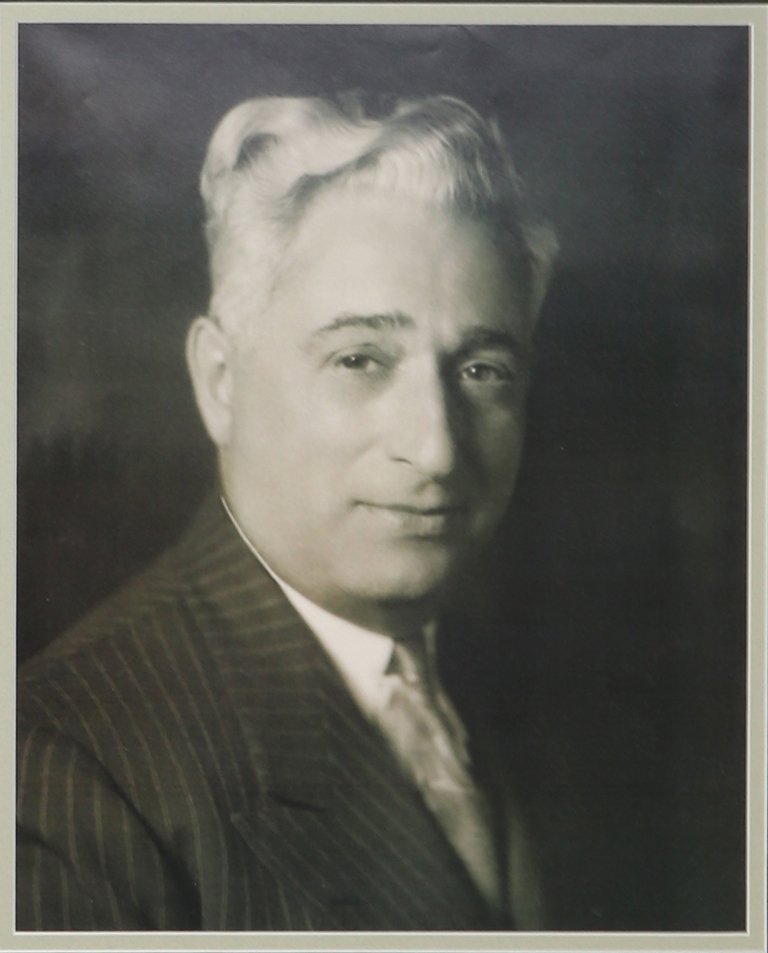 Julius Silvert portrait